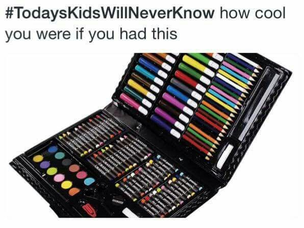 #LOL #TodaysKidsWillNeverKnow...