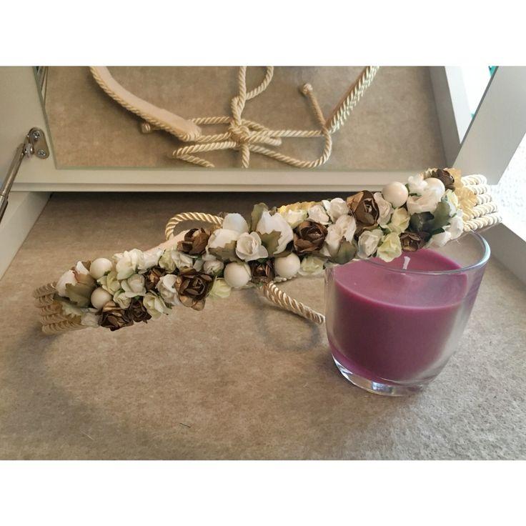 Cinturón de Flores para Novia. Boda. Weeding
