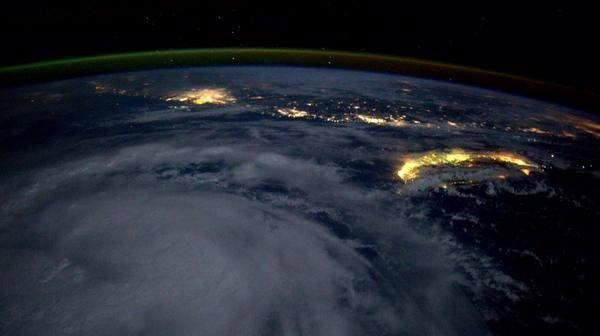 A major storm bears down on Taiwan. September 15, 2014