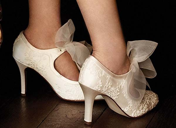 ivory bridal shoes Stunning Ivory Wedding Shoes for Perfect Bridal