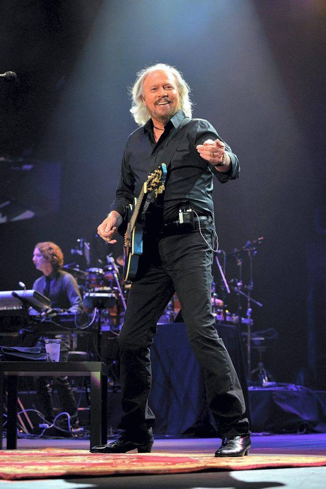 Barry Gibb...The Greatest!!!