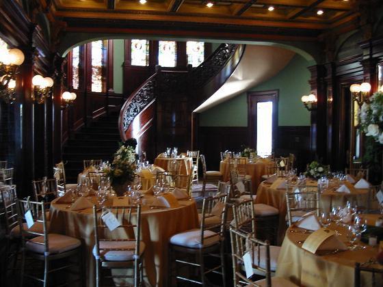 Wedding Reception At Rhodes Hall