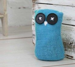 Knitted Owl doorstop. #Knitting #Craft #SouthAfrica