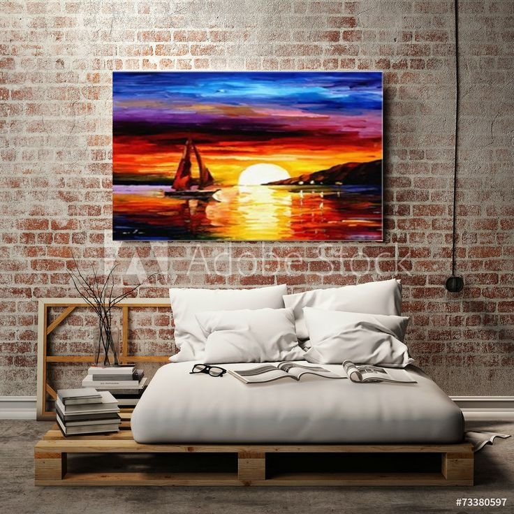 Sunrise or Sunset whatever you like to call it put this wall art makes me simile every time i look at it. #canvas #print #sunrise #sunset #colourful #wall #art #home #decor #nuurdesignsart