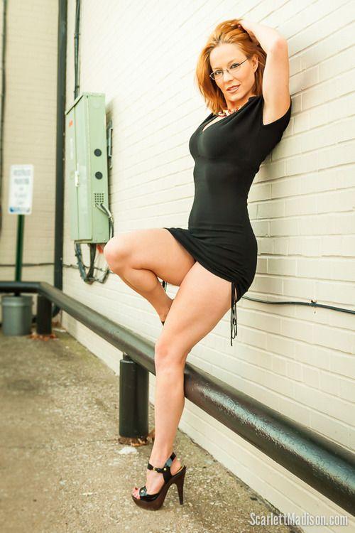 Madison Babe Milf Redhead