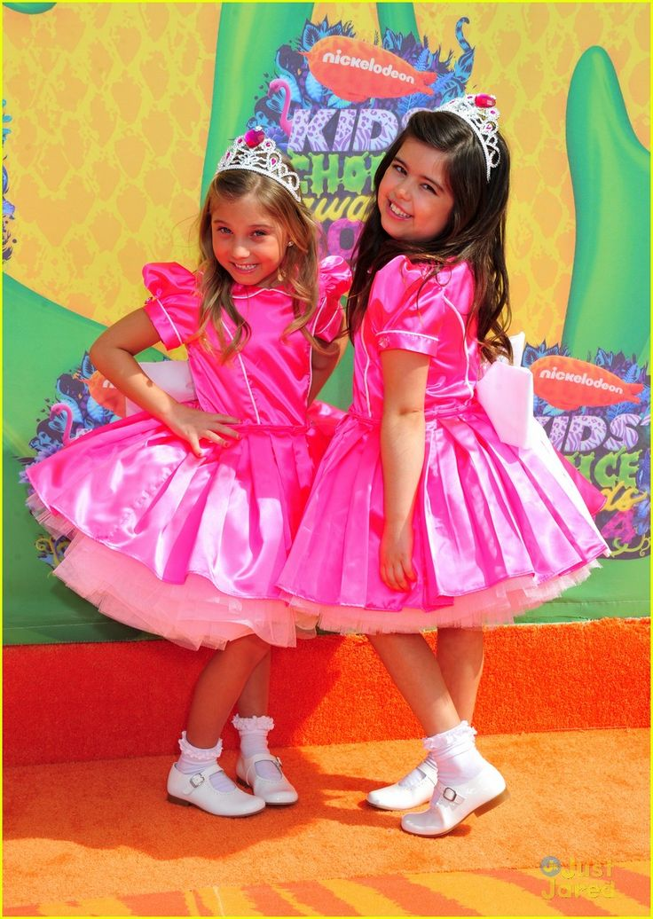 Sophia Grace & Rosie Are Absolutely Adorable at Kids' Choice Awards 2014!