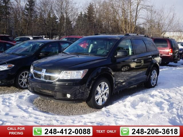 2010 Dodge Journey R/T 82k miles $14,455 82752 miles 248-412-0088 Transmission: Automatic  #Dodge #Journey #used #cars #AlDeebyCDJR #Clarkston #MI #tapcars