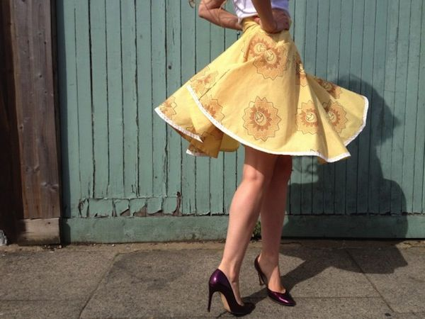 5 easy skirts to make & refashion - without a sewing pattern! – By Hand London With a link to circle skirt calculator
