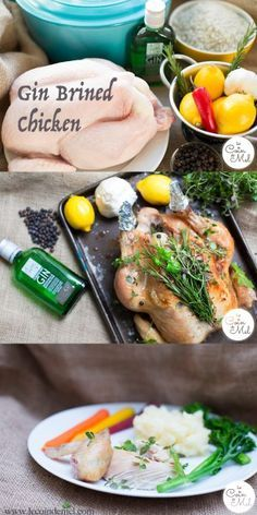 I have just found the perfect way to cook chicken or turkey and make sure it's always moist and full of flavours: by brining it before roasting! This recipe is so simple I'll always brine poultry before cooking it! The gin and lime twist makes all the difference! It's also 'free from' the top 14 allergens, making it the perfect free from Christmas recipe. The Top 14 Allergens: cereals containing gluten: wheat, rye, barley, oats if not GF, dairy, eggs, soya, lupin, sesame, celery…