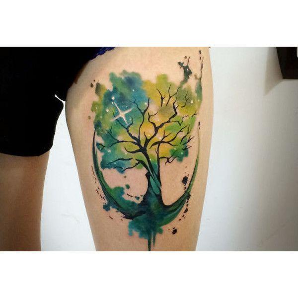 Quer fazer uma tattoo? Confira 44 ideias de tatuagens inspiradas no... ❤ liked on Polyvore featuring accessories and tattoos