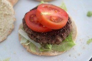 griekse pita hamburgers