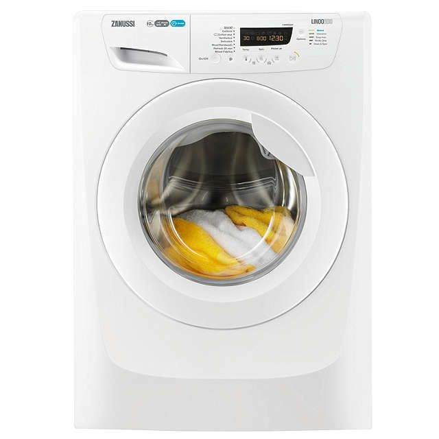 BuyZanussi ZWF01487W Freestanding Washing Machine, 10kg Load, A+++ Energy Rating, 1400rpm Spin, White Online at johnlewis.com
