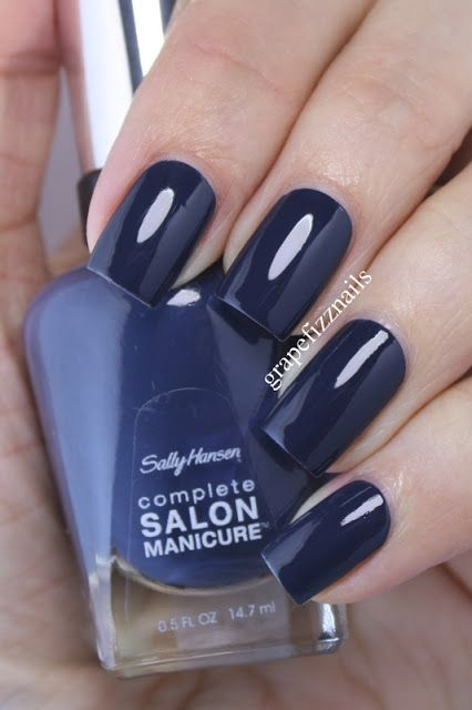 grape fizz nails: Sally Hansen Complete Salon Manicure Swatches and Review