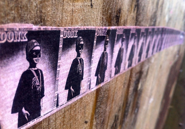 On a wall near London Bridge. Image by Rachael Chapman