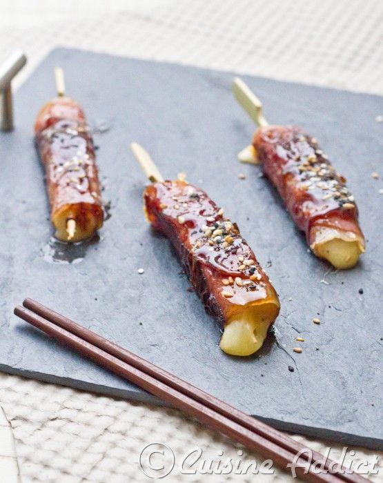 Yakitori mi-Japonais, mi-Auvergnat au Cantal & Jambon d'Auvergne - Cuisine Addict - Food & Travel