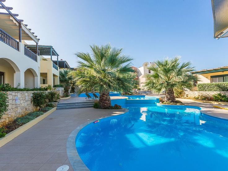 Rethymno apartment rental - The complex is very close to the sandy beach of Panormo!
