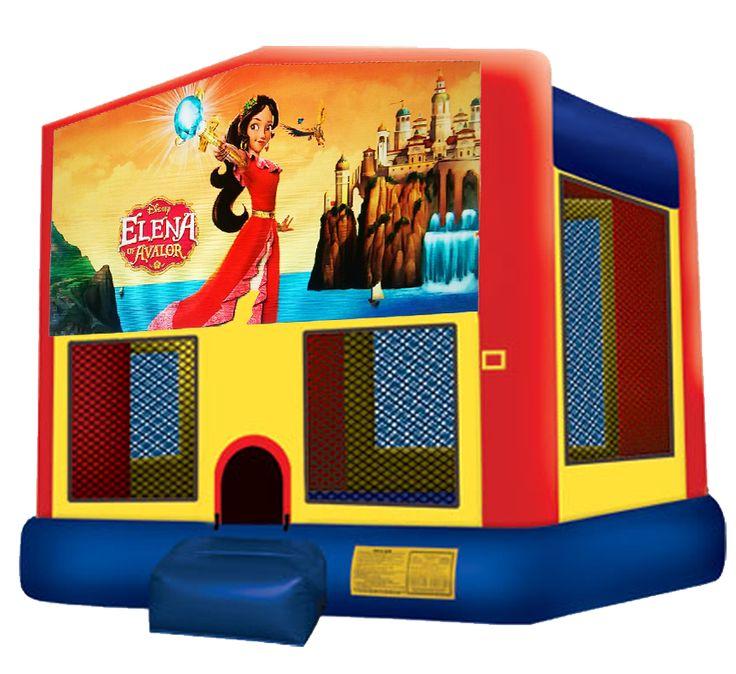 austinbouncehouse.rentals Princess Elena Bounce House Moonwalk Rentals 512-765-6071