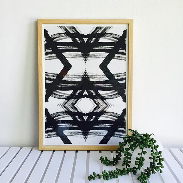 Tribal Luxe✖️Available @theblockshop ✖️ #tribal #triballuxe #monochrome #blackandwhite #artprint #print #interior #design #theblockshop #home #abstract #modernart #australianart #contemporaryart #dsart #dslooking #instaart #visualcrush #abmlifeiscolorful #pursuepretty #flashesofdelight #thatsdarling  #makersgonnamake