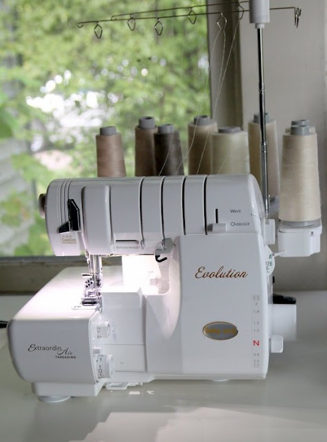 The Baby Lock Evolution 8-Thread Serger & Cover Stitch Machine