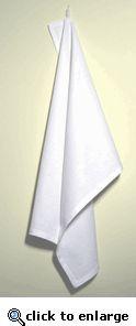 White Cotton Kitchen Tea Towel $3.44@, min 48 for $156.96