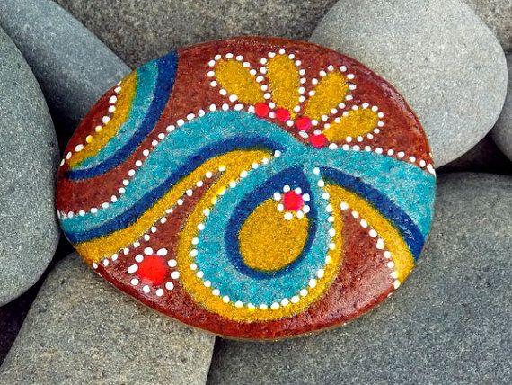 Spezia marocchina / Painted Rock / Sandi luccio Foundas / Cape Cod mare pietra