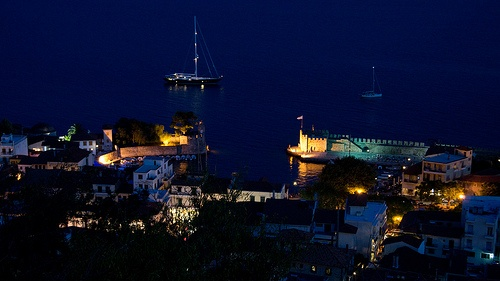 Nafpaktos' port from castle