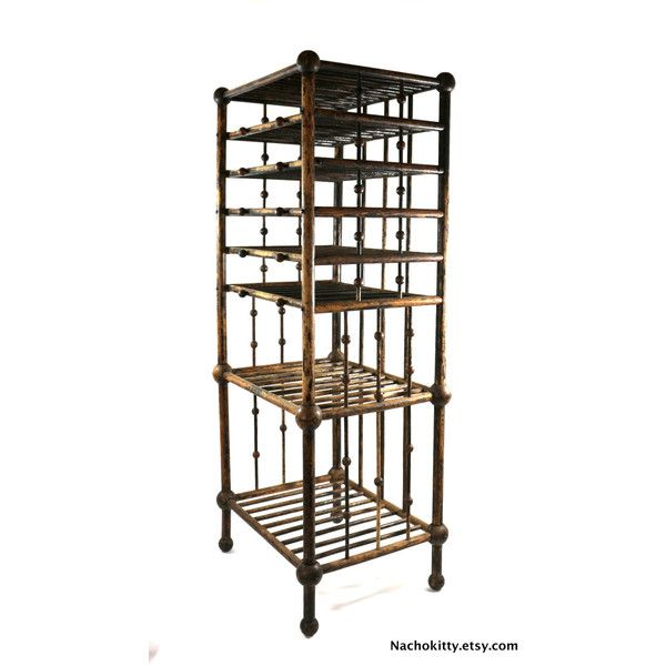 1880s Magazine Book Stand, Victorian Home Decor, Antique Office... (795 CAD) ❤ liked on Polyvore featuring home, home decor and small item storage