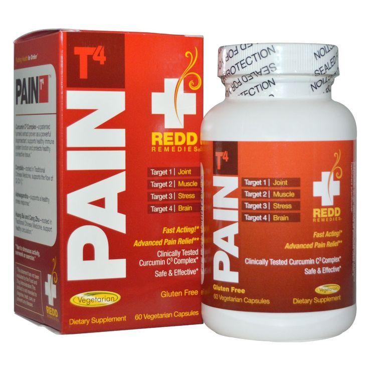 Redd Remedies, Pain T4, 60 Veggie Caps