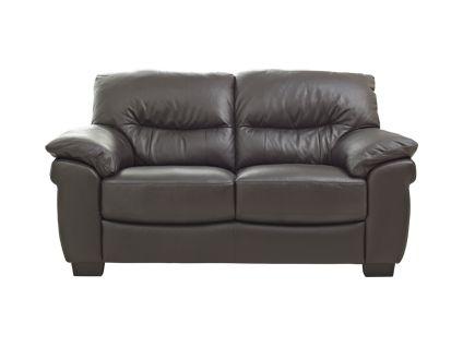 Millan express 2 seater sofa in chocolate