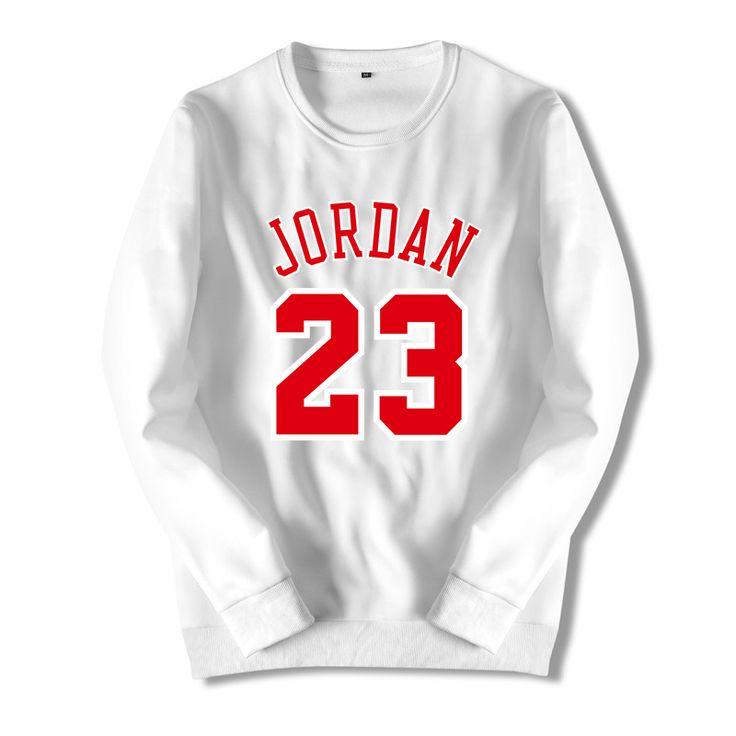 Spring Jordan Printed Off Long-sleeved Pullovers Hoodies White Plus Size Men Clothing  Bape Mens Streetwear Hoodie Sweatshirt HZ