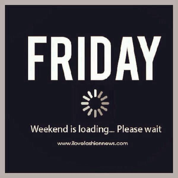 We love Friday, mainly because it's followed by the weekend! #TGIF