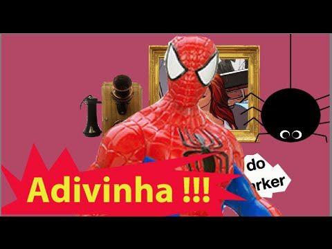 Pegadinha Adivinha Desafio Broma O que é o que é ? Homem Aranha Spider M... #homemaranha #aranha #spider #spiderman #eterparker #avengers #vingadores #toys #toys #おもちゃ #barbie #dolls #doll #kids #kids  #puppet #babyalive #lego #imaginext #marvel #DC #Comics #escola #school #educação #education #kid #kids #lol