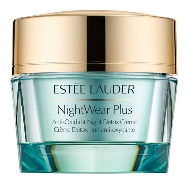 Women's Estee Lauder 'Nightwear Plus' Antioxidant Night Detox Cream (746.590 IDR) ❤ liked on Polyvore featuring beauty products, skincare, face care, face moisturizers, no color, face moisturizer, estée lauder and estee lauder face moisturizer