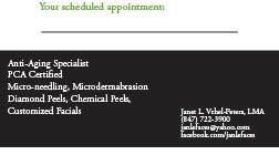 Micro Needling! Put your name on this schedule! Collagen Induction Therapy... Take off years at a fraction of the cost!