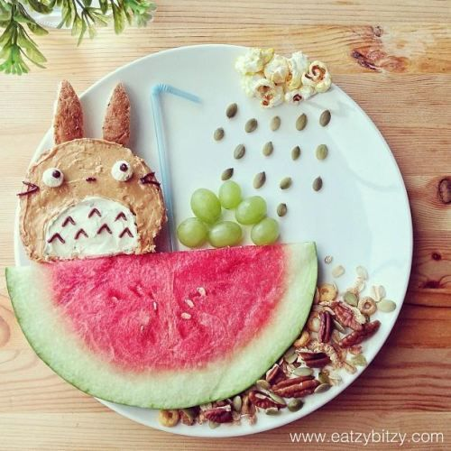 #Samantha Lee food art - Play With Your Food