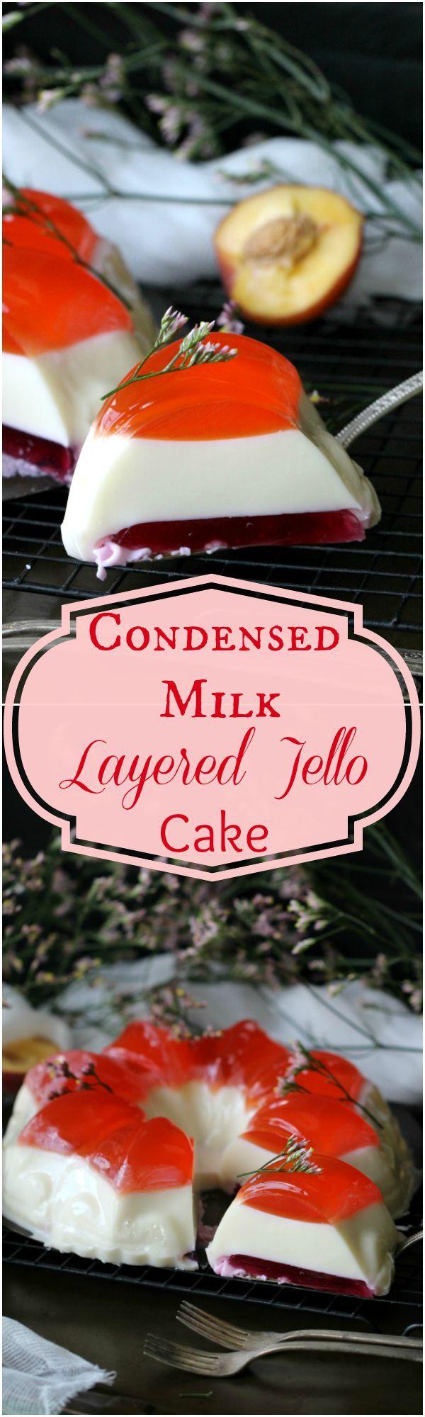 How do you make a jelly cake