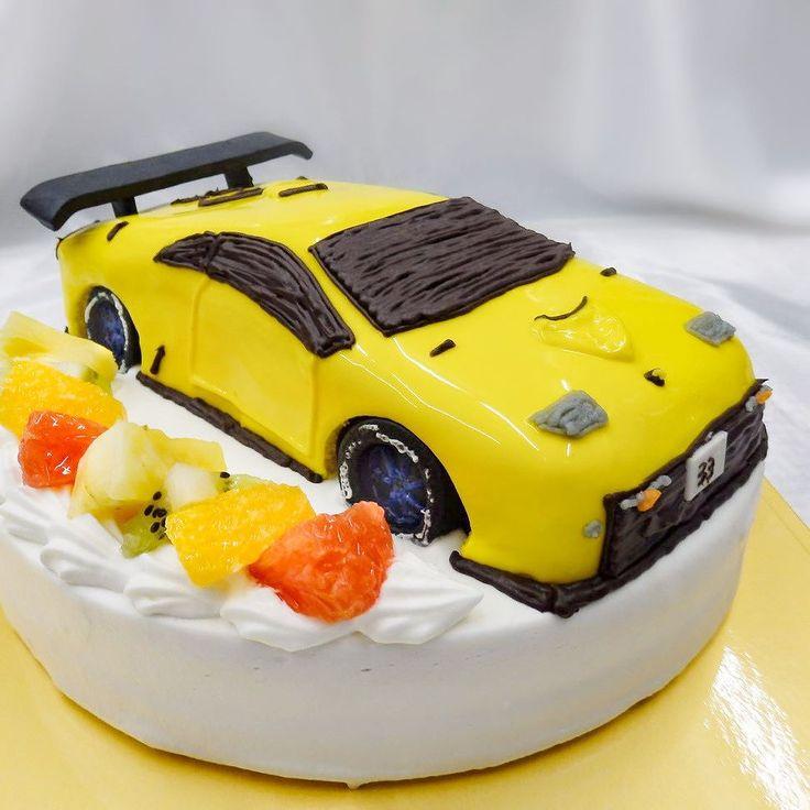 ランボルギーニ3Dケーキ  #3Dケーキ #誕生日ケーキ #オーダーケーキ  #バースデーケーキ #立体ケーキ #car #cake #車のケーキ #ランボルギーニ #diablo #ディアブロ #lamborghini #プレゼント #通販 #宅配 #全国発送 #pinterest