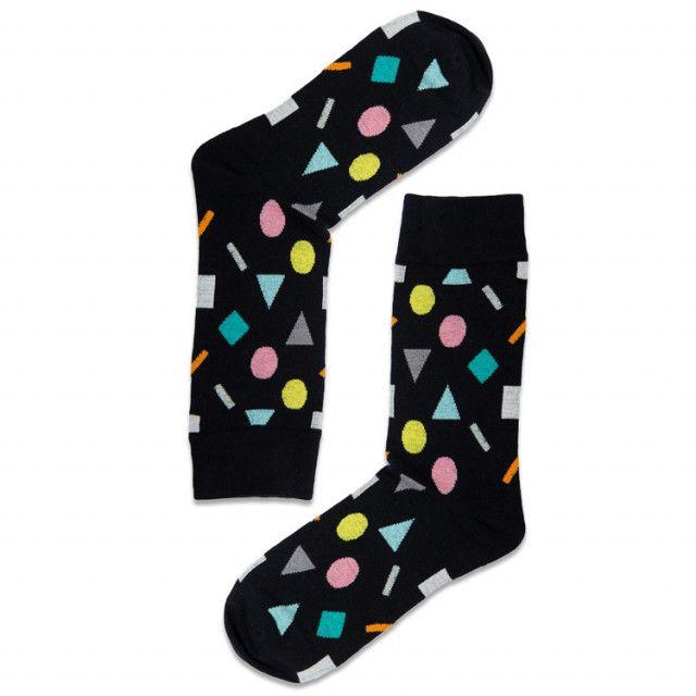 جورب الأشكال الهندسية Geometric Sock Socks Fashion
