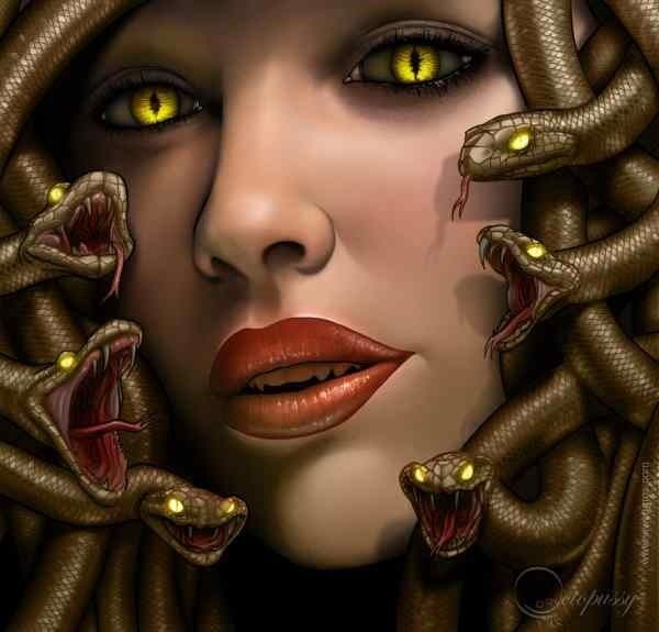 102 best images about Gorgon on Pinterest | Medusa art ... |Greek Mythical Creatures Medusa