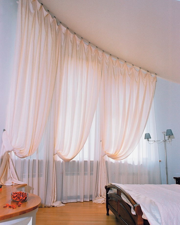 17 best images about voiles and net curtains on pinterest for Window voiles
