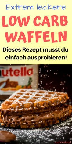 Low carb waffles – Fast and super easy