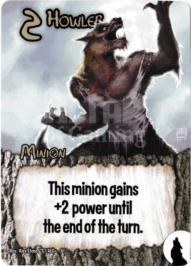 Howler - Werewolves - Smash Up Card | Altar of Gaming