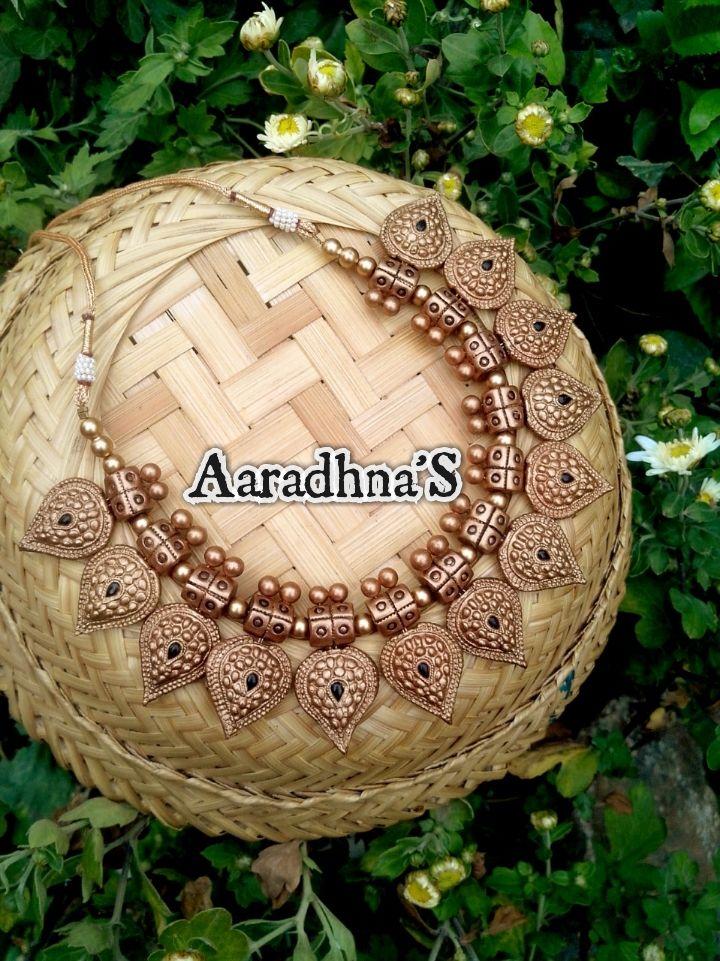 how to make terracotta clay jewellery