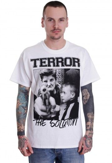 Terror - Your Youth White - T-Shirt - Impericon.com Worldwide