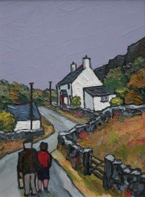 British Artist David Barnes - Homeward Bound