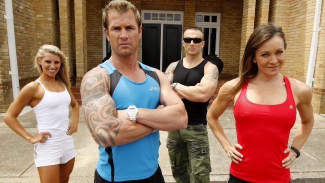 The Biggest Loser Australia trainers.