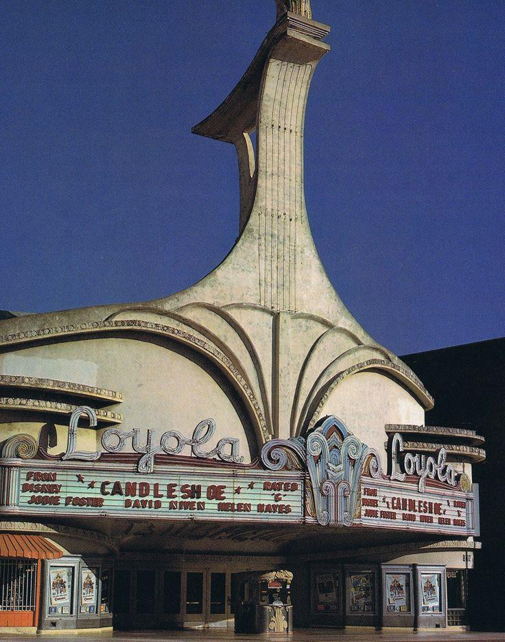 loyola theater westchester ca built 1946