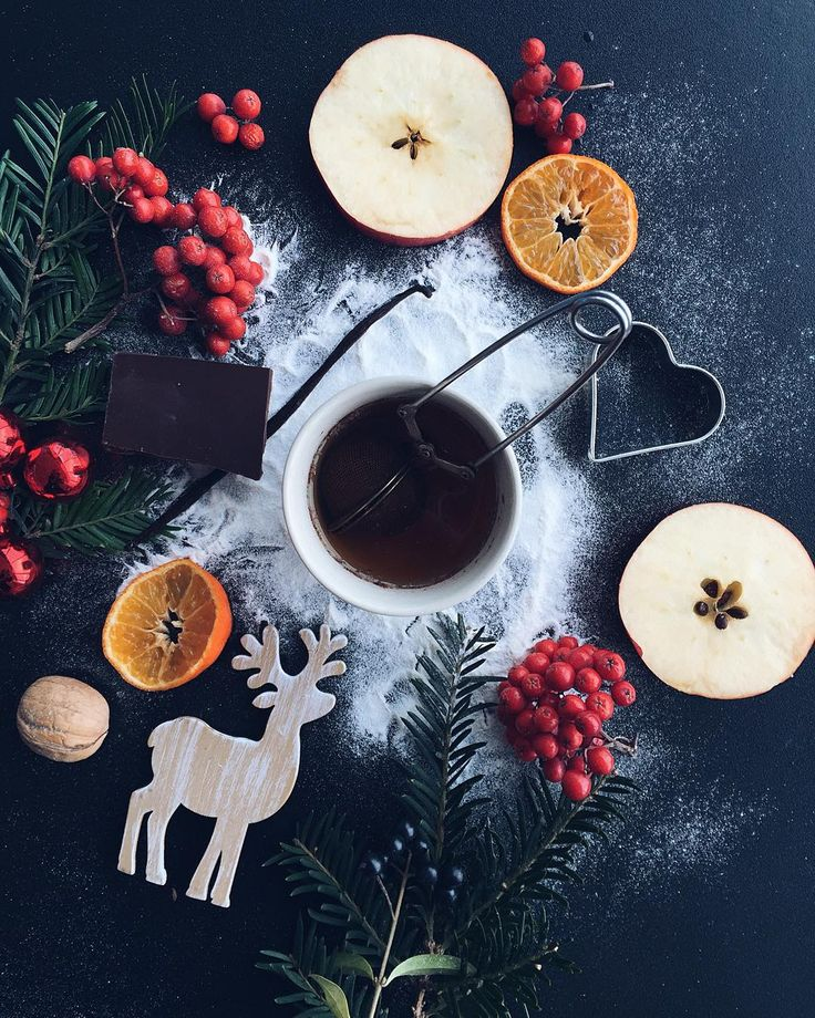 "Slowly getting into xmas mood here. I love the smell of hot tea vanilla orange and home made cookies.  Ahm and happy that @teastories_official is using my picture to promote their new tea ""Santa's secret"". Yay! ;) by irinahp"