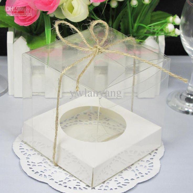 Wholesale Transparent Cupcake Boxes, $0.21-0.28/Piece | DHgate