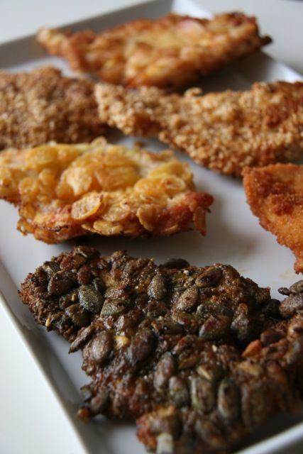 Különleges gluténmentes panírozási tippek, GM rántott húsok új köntösben. Rántott húsok új köntösben! 6+1 féle gluténmentes panírozás ötlet a nagy gluténmentes rántott hús tesztünkben. Ön próbálta már a tökmaggal vagy amaránttal? Gluténmentes panírokkal kísérleteztünk.